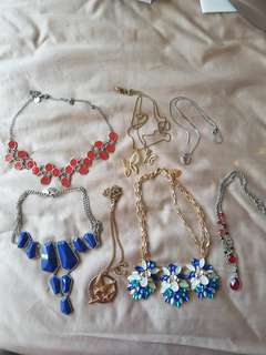 Assorted Lovisa and Collette Necklaces