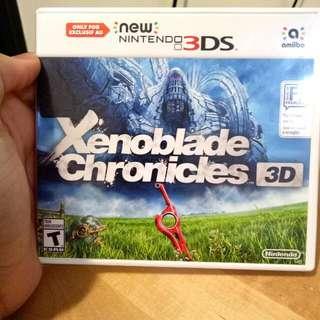 Nintendo 3DS (Xenoblade Chronicles 3D)