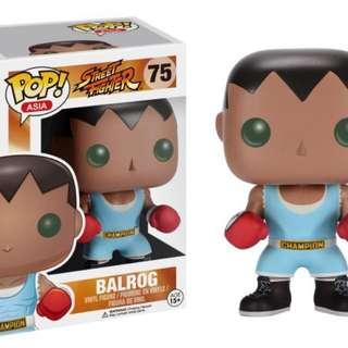 Original Funko Pop Street Fighter Balrog