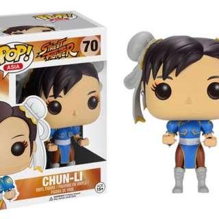 Original Funko Pop Street Fighter Chun Li