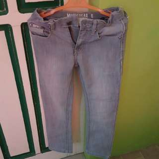 Moose Gear Gray Jeans Size 6 for boys