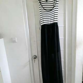 Forever21 Maxi Stripe Dress