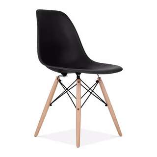 Eames inspired chairs (black)