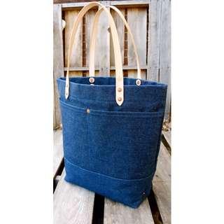 Authentic Denim Tote Bag