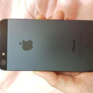 🚚 iPhone5 16g黑