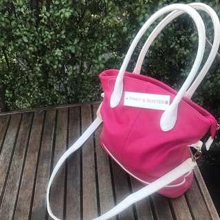 Pinky & Buster Pink Handbag
