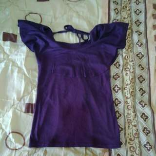 Purple Lower Top