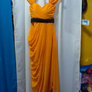 Gold Yellow Gown