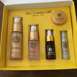 The Venom Gold Skincare by Jue Aziz