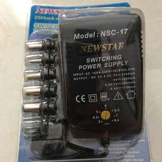 Newstar Multi Voltage Power Supply
