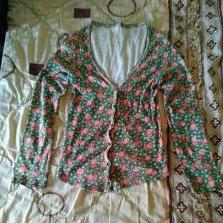 Floral Vintage Cardigan