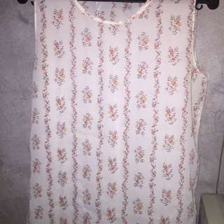 Blouse Sleeveless