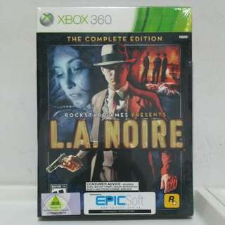 Xbox360 - L.A. Note ( The Complete Edition)