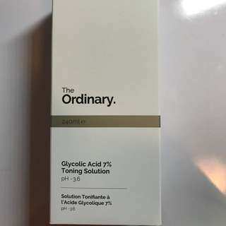 The Ordinary Toning Solution
