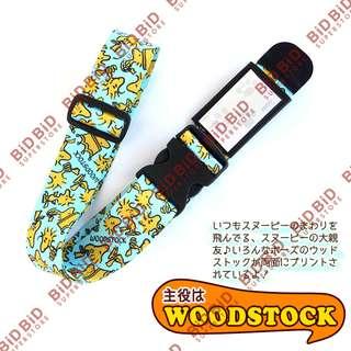 Peanuts Snoopy 史努比 胡士托 Woodstock 行李帶 Suitcase Belt Luggage Belt 旅行箱姓名帶 日本製