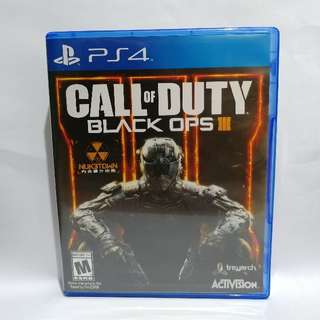 【PS4】CALL OF DUTY® BLACK OPS III (中文版)