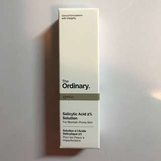 The Ordinary Salicylic Acid2% Solution