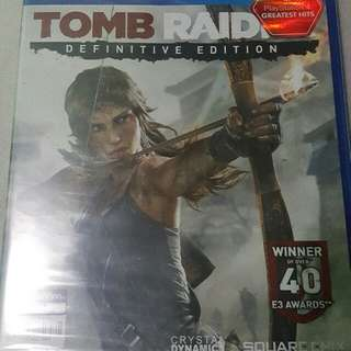 Tomb Raider Definitive Edition (Sealed)