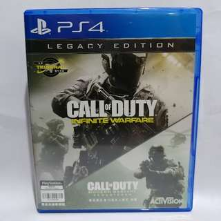 【PS4】CALL OF DUTY® INFINITE WARFARE LEGACY EDITION (中文版)