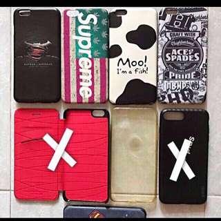 iPhone 6plus /6s plus case有5個,iPhone 6/6s case 有1個,99.9%new,Total:6個/$70👍🏿