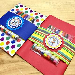 Goodie bag - Colouring set with crayons for Children's day