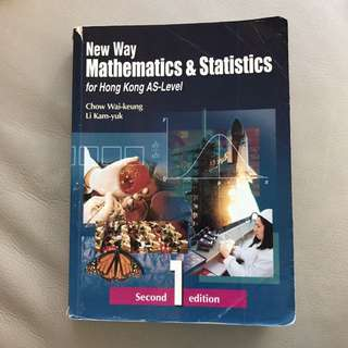 New Way Mathematics & Statistics for Hong Kong AS-Level