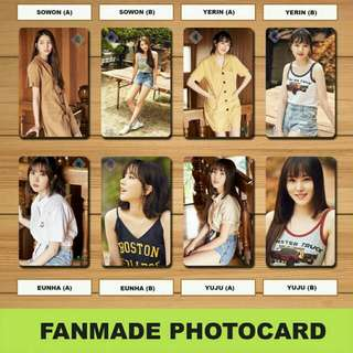 GFRIEND FANMADE PHOTOCARDS