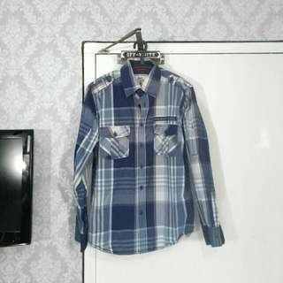 NEVADA JEANS Blue Flannel