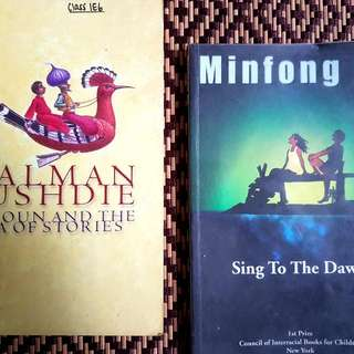 Minfong Ho's Sing To The Dawn And Salman Rushdie's Haroun And The Sea Of Stories Literature Text