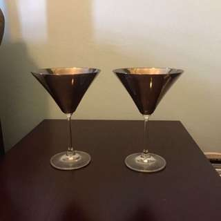 Pair Of Upscale Goblets