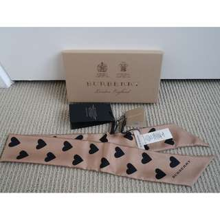 Burberry Silk Slim Scarf
