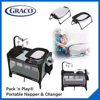 Graco Portable And Reversible Newborn Napper And Changing Area