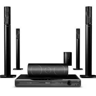 PHILIPS 5.1 Home Theater System HTS5591/98