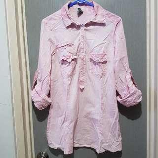 Zara Trf Shirt Pink