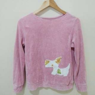 Baby Pink Fuzzy Pullover