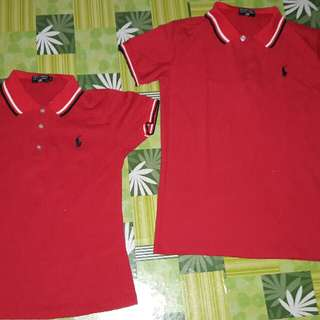 CoupLe Shirt Red ( Polo Jeans )