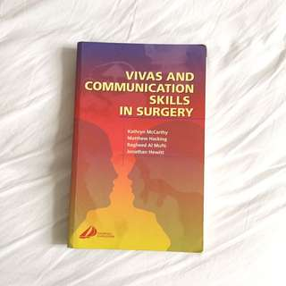 MRCS Vivas And Communication Skills In Surgery