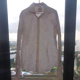 TM Lewin Dress Shirt 16/35