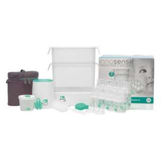 Price reduced! Mothercare Innosense Sterilizer Ultimate Starter Set with Bottles, Bottle Warmer, insulated bag