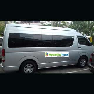 Batam 16 Seater Van/Coaster Transport Rental With Driver