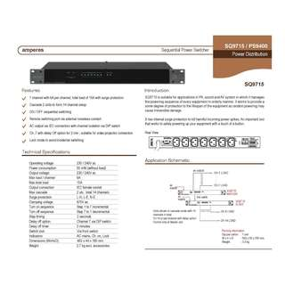 AMPERES SEQUENTIAL POWER SWITCHER SQ-9715