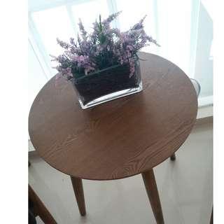 Hardwood Stool Table