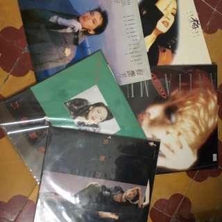 梅艷芳黑膠唱片五張