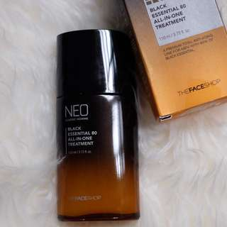 FACE SHOP NEO CLASSIC HOMME BLACK ESSENTIAL 80 ALL IN ONE TREATMENT