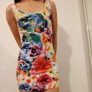 Vintage Mini Dress Size 8