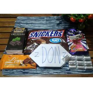 SAVE!! 733php for a BUNDLE of 6 CHOCOLATE BRANDS UNTIL AUG 24 ONLY!!!