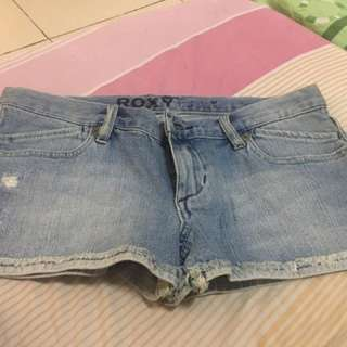 Authentic Roxy Denim Shorts.