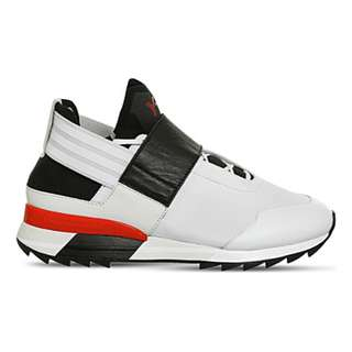 ADIDAS Y3 Atira textile and mesh trainers