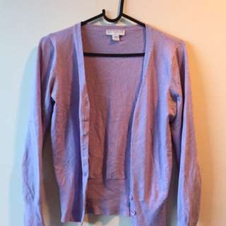 Glassons Pastel Purple Cardi