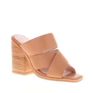 Sol sana mules. Size 39. Tan Leather. Brand New In Box